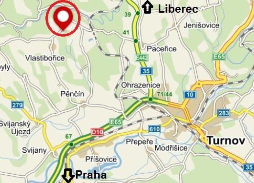 Provozovna Vlastibořice - Jivina