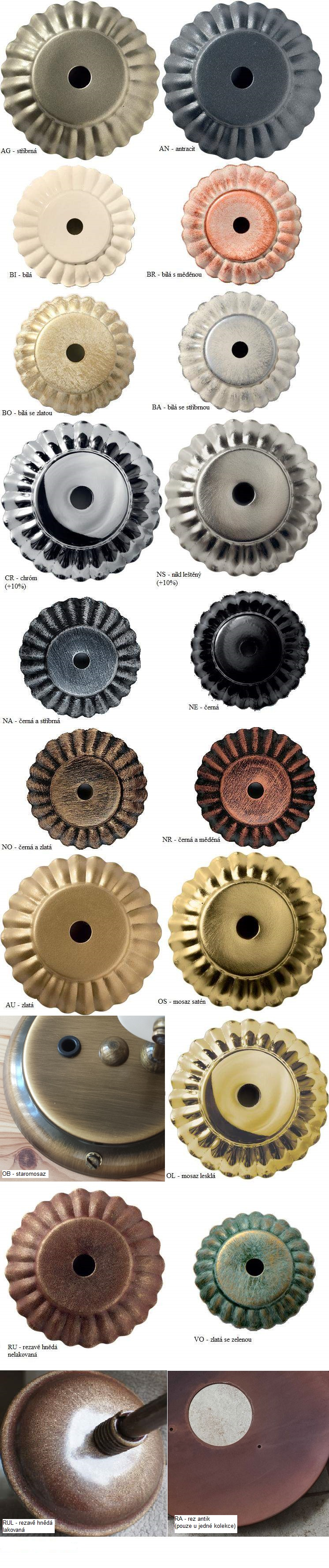 Vzorník kovových povrchů