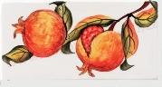 granátové jablko středomořský dekor