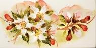 jabloňový květ dekor