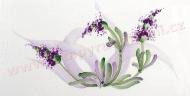 levandule středomořský dekor, Provance