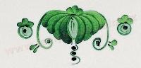 zelena stylizace dekor